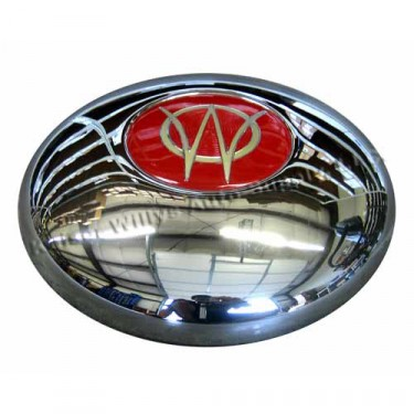 Show Quality Chrome Hub Cap  Fits  46-55 Jeepster, Station Wagon with Planar Suspension