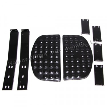 Side Step Kit with Bracket for Both Sides  Fits  41-71 MB, GPW, CJ-2A, 3A, 3B, 5, M38, M38A1