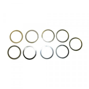 Differential Carrier Bearing Shim Pack  Fits  41-71 Jeep & Willys with Dana 23/25/27