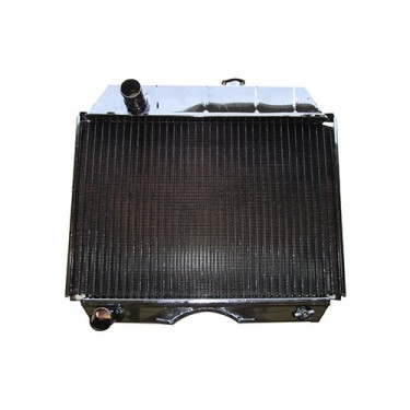 Radiator Assembly - Made in the USA  Fits  49-64 CJ-3A, 3B