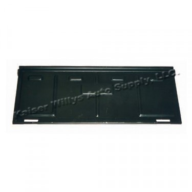 """Replacement Steel Tailgate (Less """"Willys"""" Logo)  Fits  46-83 CJ-2A, 3A, 3B, 5"""