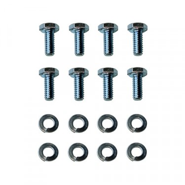 Transmission Floor Plate to Floor Hardware Kit Fits  46-71 CJ-2A, 3A, 3B, 5, M38, M38A1