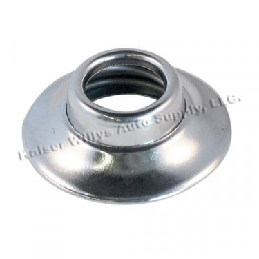 Chrome Window Handle Escutcheon (Spring Loaded)  Fits  46-64 Truck, Station Wagon, Jeepster