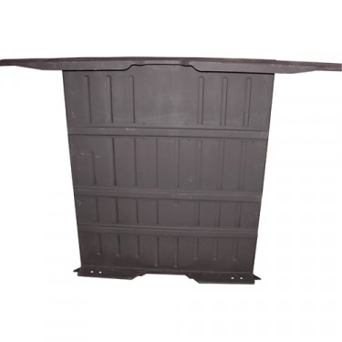 Complete Rear Floor Pan w/ Welded Braces & Riser  Fits  46-64 CJ-2A, 3A, 3B