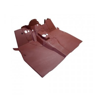 Complete Front Floor Pan with Welded Braces  Fits  50-52 M38