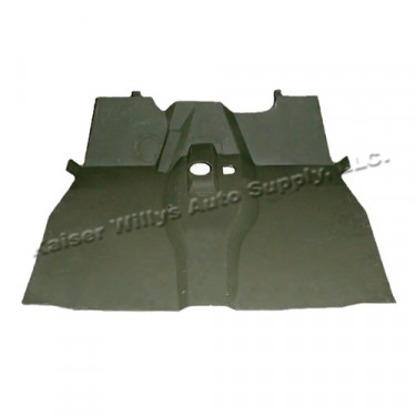 Complete Front Floor Pan with Welded Braces  Fits  46-64 CJ-2A, 3A, 3B