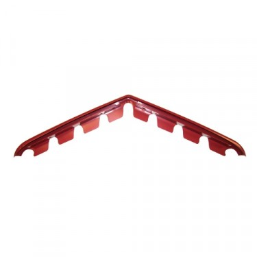 Red Horizontal Grille Bar (Center & Lower) Fits  50-64 Truck, Station Wagon, Jeepster