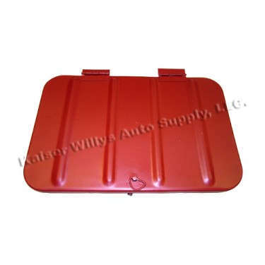 Replacement Tool Compartment Lid  Fits  48-69 CJ-2A, 3A, 3B, 5, M38