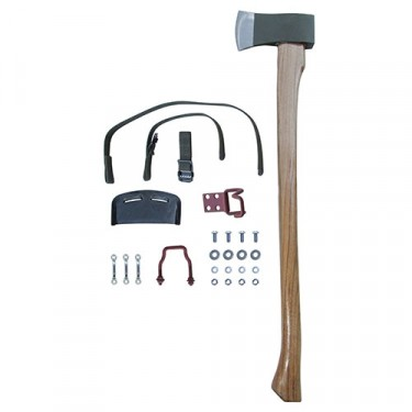 Complete Axe, Clamp & Strap Kit Fits 50-52 M38