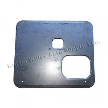 Drivers Side Seat Frame Bottom Pan(for Large Mouth) Fits 41-45 MB, GPW