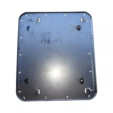 Seat Frame Bottom Pan (with Upholstery Hooks - 2 required)  Fits 46-64 CJ-2A, 3A, 3B (for driver or passenger side)