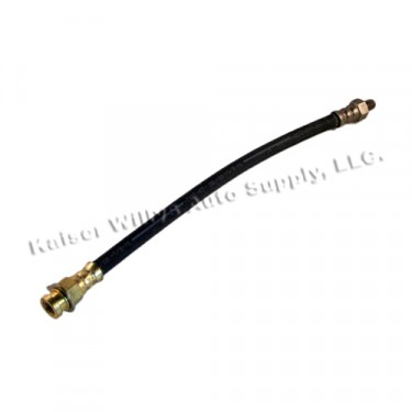 "Front Brake Hose 12-1/4"" (frame to Tee fitting)  Fits  41-66 MB, GPW, CJ-2A, 3A, 3B, 5, M38, M38A1"