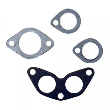 New Manifold Gasket Set (4 piece kit)  Fits  50-71 Jeep & Willys with 4-134 F engine
