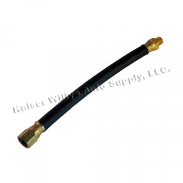 Flexible Fuel Hose (to fuel pump)  Fits  46-71 Jeep & Willys with 4-134 engine