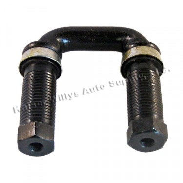Leaf Spring Shackle Kit (Left Hand Thread) Fits 41-58 MB, GPW, CJ-2A, 3A, 3B, 5, M38 (greasable)