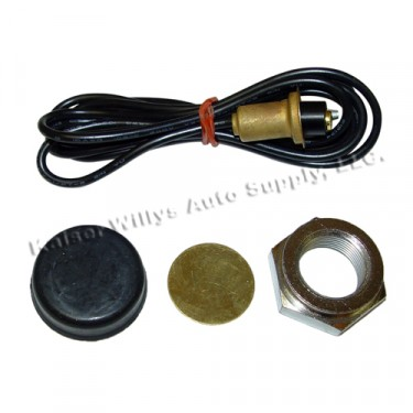 """Master Horn Button Repair Kit for 1-1/4"""" Steering Wheels  Fits  46-64 CJ-2A, 3A, 3B, 5"""