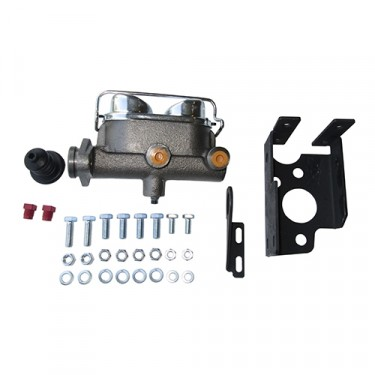 Dual Reservoir Master Cylinder Conversion Kit    Fits 46-64 Truck, Station Wagon