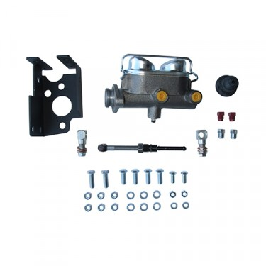 Dual Reservoir Master Cylinder Conversion Kit Fits  41-71 Jeep