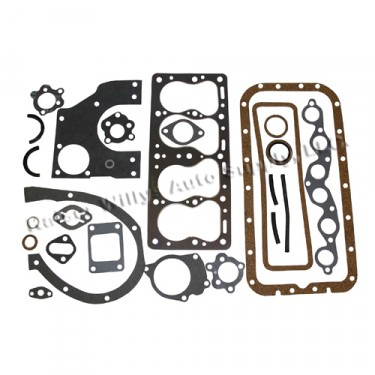 Complete Engine Overhaul Gasket Set  Fits  41-53 Jeep & Willys with 4-134 L engine