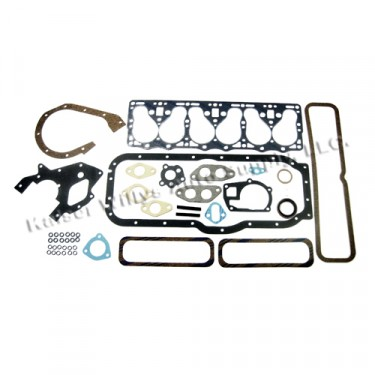 Complete Engine Overhaul Gasket Set  Fits  52-55 Station Wagon with 6-161 F engine