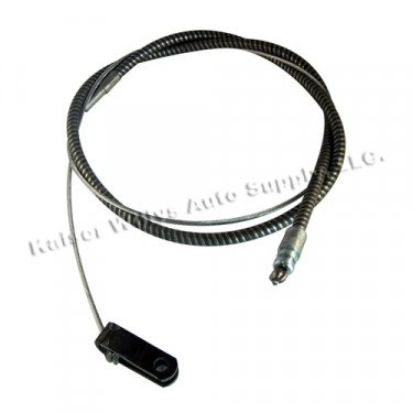 "Emergency Front Hand Brake Cable (78"") Fits  54-64 Truck"