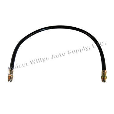"""Oil Filter Outlet Hose 17"""" Fits  50-55 Station Wagon, Jeepster with 6-161 L engine"""