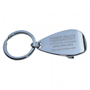 Kaiser Willys Bottle Cap Jeep Keychain