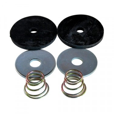 Clutch & Brake Pedal Draft Seal Kit  Fits  41-71 MB, GPW, CJ-2A, 3A, 3B, 5, M38, M38A1