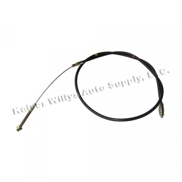 """Emergency Hand Brake Cable (63-5/8"""") Fits  55-71 CJ-5"""