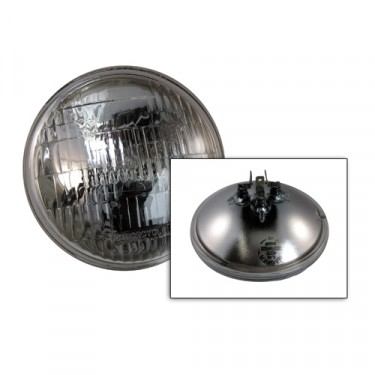 Sealed Beam Halogen Headlight Bulb 12 volt Fits  41-45 MB, GPW