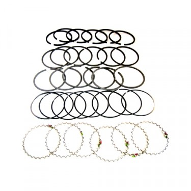 "New Complete Piston Ring Set - .060"" o.s.  Fits  54-64 Truck, Station Wagon with 6-226"