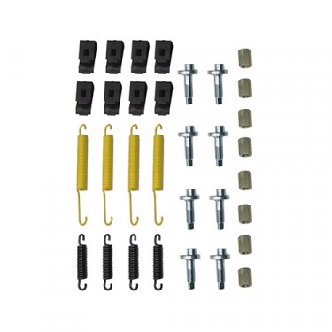 Complete Brake Spring & Hardware Master Kit Fits  46-64 Truck, Station Wagon, Jeepster