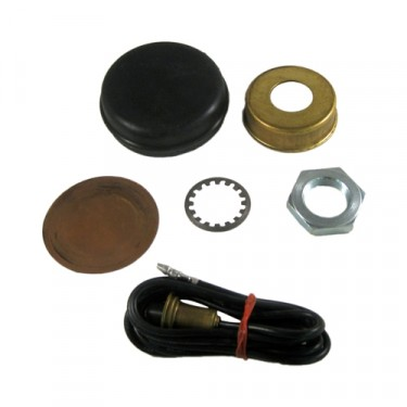 "Master Horn Button Repair Kit for 2-1/4"" Steering Wheels  Fits 60-75 CJ-3B, 5, 6, FC150, FC170"
