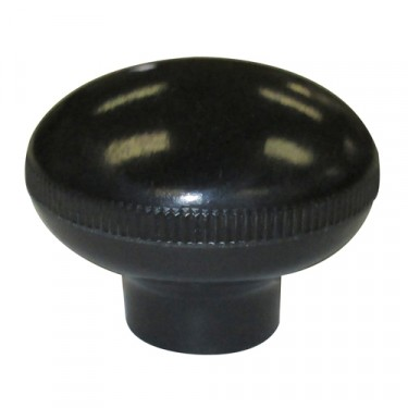 Black Transmission Gear Shift Lever Knob (screw on)  Fits  46-71 Jeep & Willys with T-90 Transmission