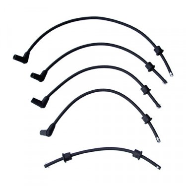 Spark Plug Cable Set  Fits  41-53 Jeep & Willys with 4-134 L engine