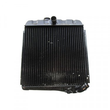 Radiator Assembly - Made in the USA  Fits  66-73 CJ-5, Jeepster with V6-225