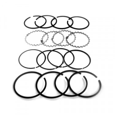 "New Complete Piston Ring Set - .080"" o.s.     Fits 41-71 Jeep & Willys with 4-134 engine"