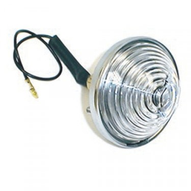Back Up Light Lamp Assembly  Fits  41-71 Jeep & Willys