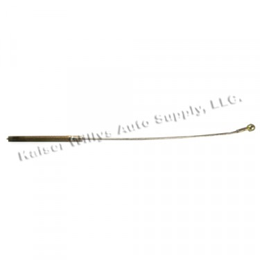 Clutch Release Cable  Fits  66-73 CJ-5, Jeepster with V6-225 engine