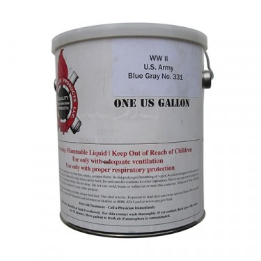 Blue Gray Paint (1 Gallon)  Fits 41-71 Jeep & Willys (paint code 331)
