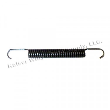 Emergency Brake Shoe Return Spring (adjusting side)  Fits  41-66 MB, GPW, CJ-2A, 3A, 3B, 5, M38, M38A1
