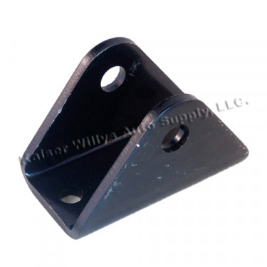 Steel Leaf Spring to Frame Pivot Eye Bracket  Fits  41-64 MB, GPW, CJ-2A, 3A, 3B, 5, M38