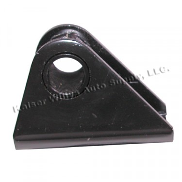 Steel Leaf Spring to Frame Shackle Bracket (threaded) Fits  41-64 MB, GPW, CJ-2A, 3A, 3B, 5, M38