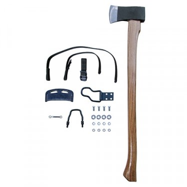 Complete Axe, Clamp & Strap Kit Fits 41-45 MB, GPW