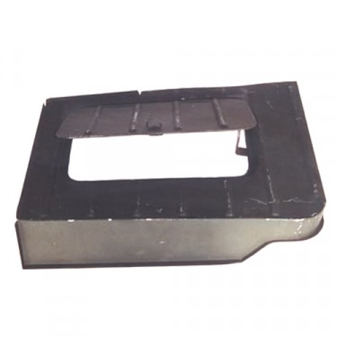 Replacement Steel Tool Compartment with Lid  Fits  46-71 CJ-2A, 3A, 3B, 5, M38, M38A1