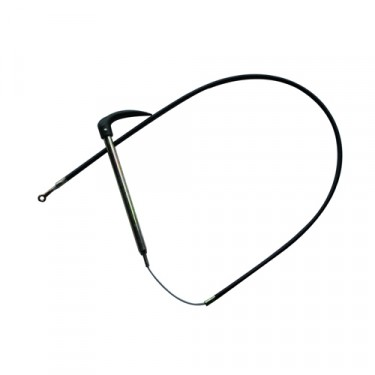 """Emergency Hand Brake Cable Assembly with Tube and Cable (63-3/4"""") Fits  41-45 MB, GPW"""