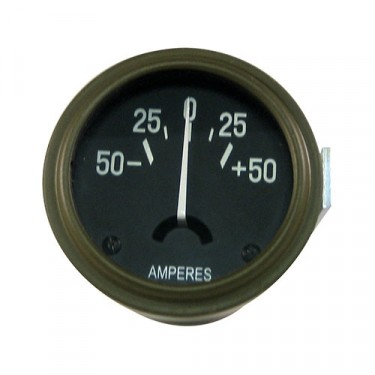 Instrument Panel Ammeter Gauge (made in USA)  Fits  41-45 MB, GPW