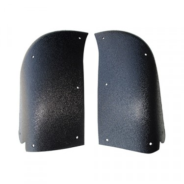 Moulded Plastic Stone Guards (pair) Fits  48-49 Jeepster & Station Wagon w/Planar Suspension