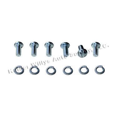 Sending Unit Round Head Screw Kit   Fits 46-64 Truck, Station Wagon, Jeepster