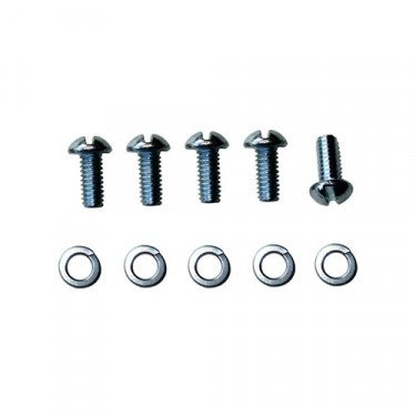 Sending Unit Round Head Screw Set Fits  41-66 MB, CJ-2A, 3A, 3B, M38, M38A1